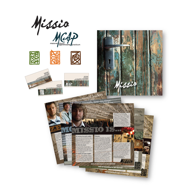 Missio Recruiting Collateral and Branding